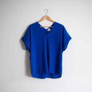 JAPNA | ROYAL BLUE TOP